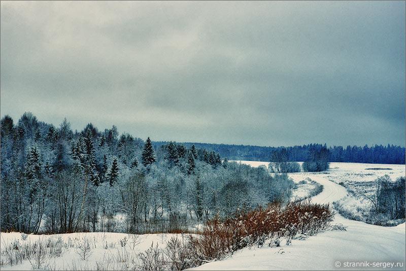 Давайте отправимся в лыжный поход к затерянному в лесах храму