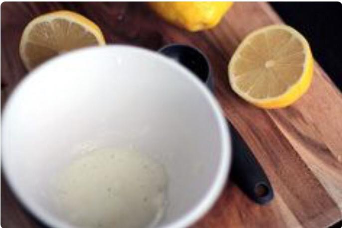 Лимонно-содовая маска для мг…