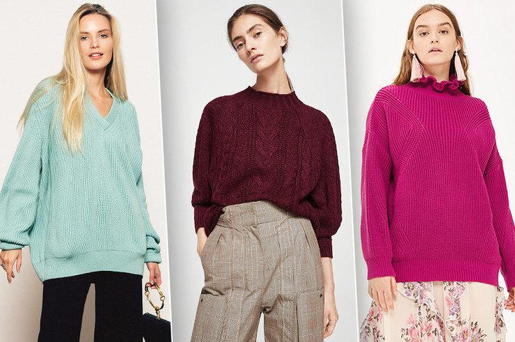 Тепло и стильно: 11 объемных свитеров, которые спасут тебя от холодов