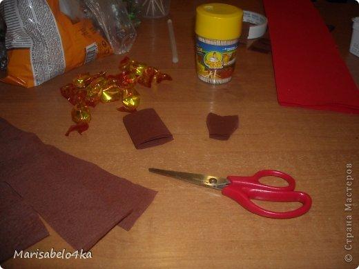 Мастер-класс Свит-дизайн 8 марта Моделирование конструирование Повторюшка божьей коровки в технике свит-дизайн + миниМК Бумага гофрированная Картон Продукты пищевые фото 8