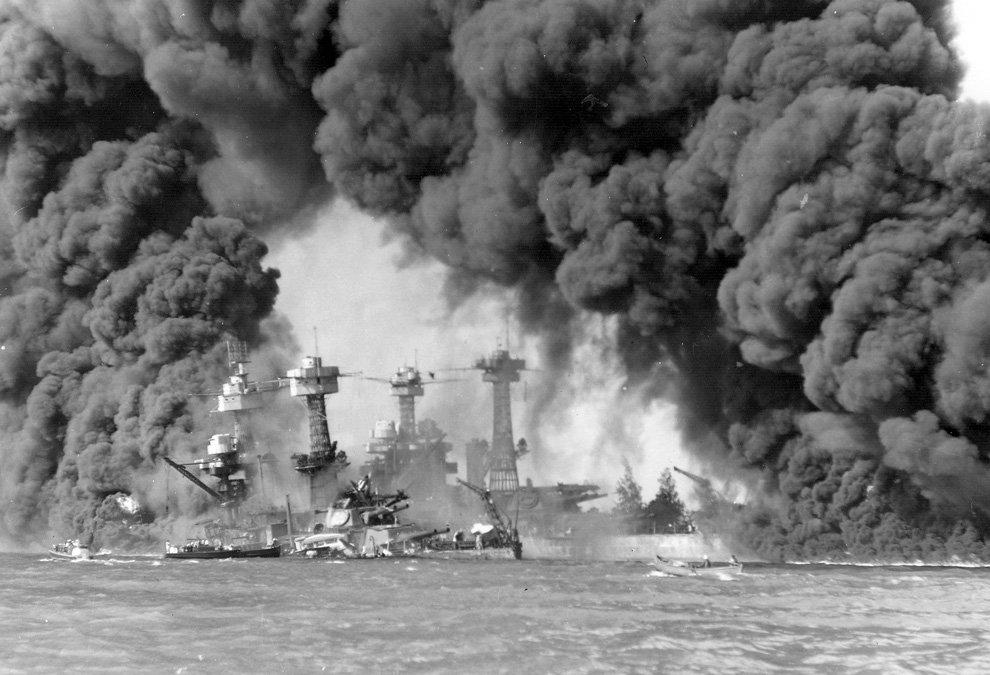 7 декабря 1941 года Императорский флот Японии напал на военно-морскую базу США в Перл-Харбор