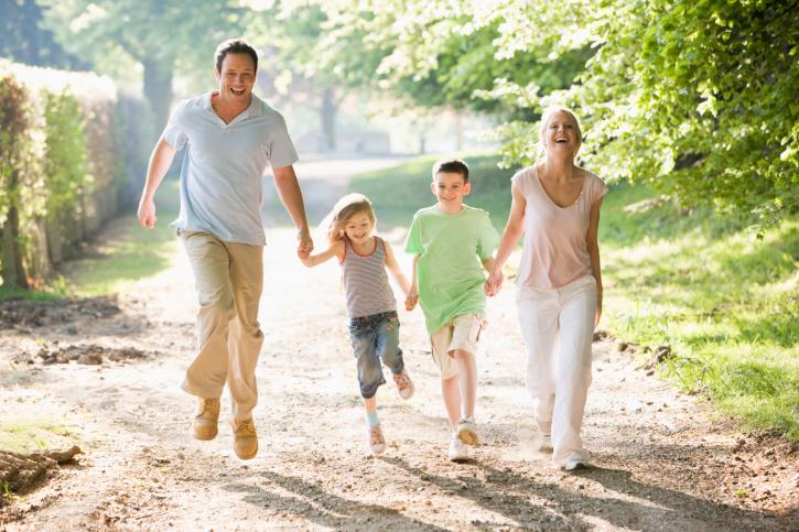 Совместные прогулки с детьми