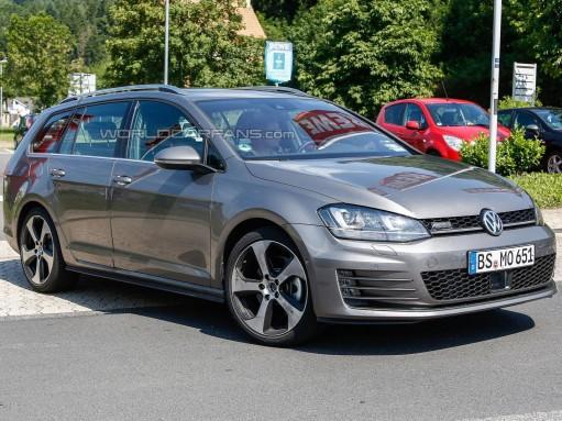 Универсал VW Golf получит мощный дизель