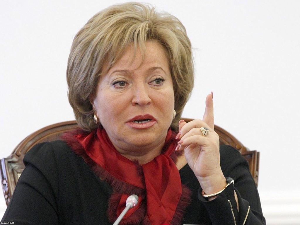 Валентина Матвиенко: Моя мама в годы войны спасла еврейскую семью