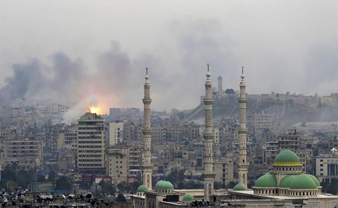США уничтожают города и села под носом у российской армии