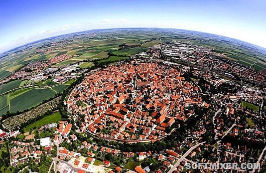 Нордлинген: город в метеорит…