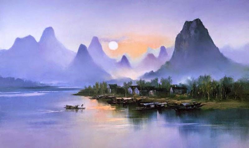 Волшебные ландшафты Кен Хонг Леунга