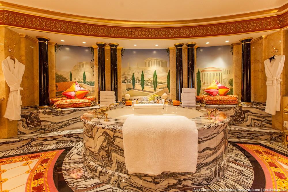 BurjAlArab30 Золото для шейхов и олигархов: самый дорогой номер в семизвездочном отеле Burj Al Arab