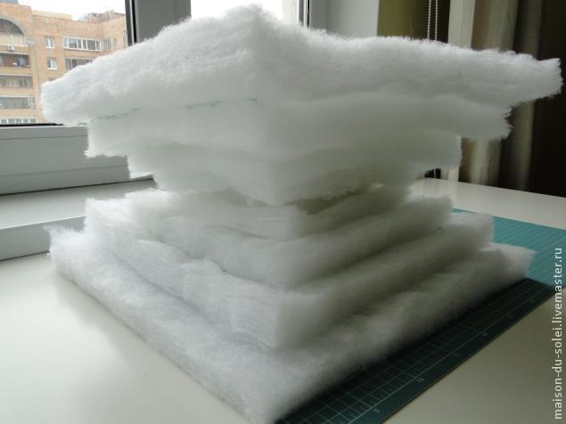 Как сделать подушки из синтепона