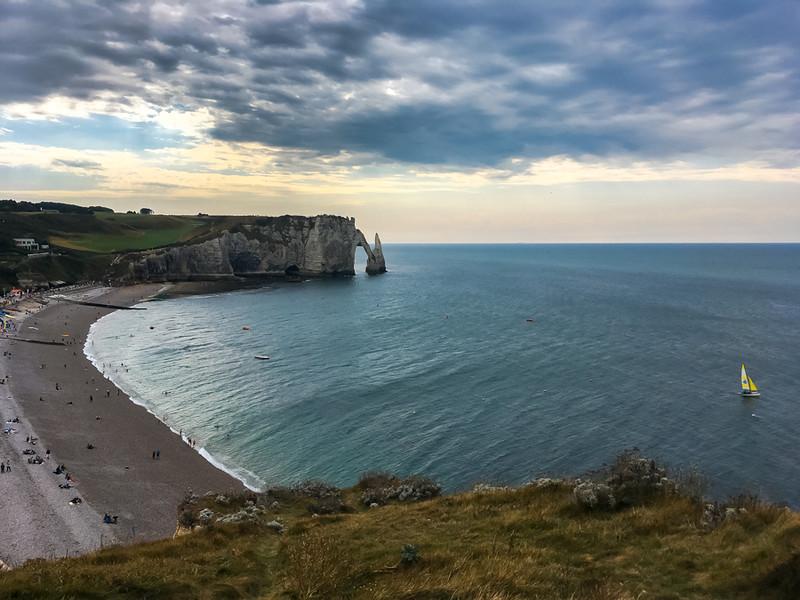 Вдоль побережья Нормандии