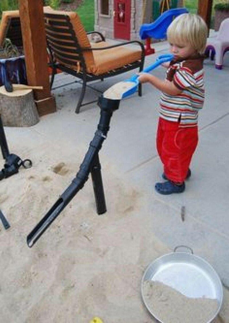И с песком Фабрика идей, гениально, дети, занятие, интересное, родители, увлечение