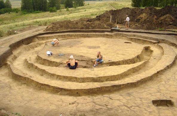 В Оренбурге завершили раскопки Курганного могильника