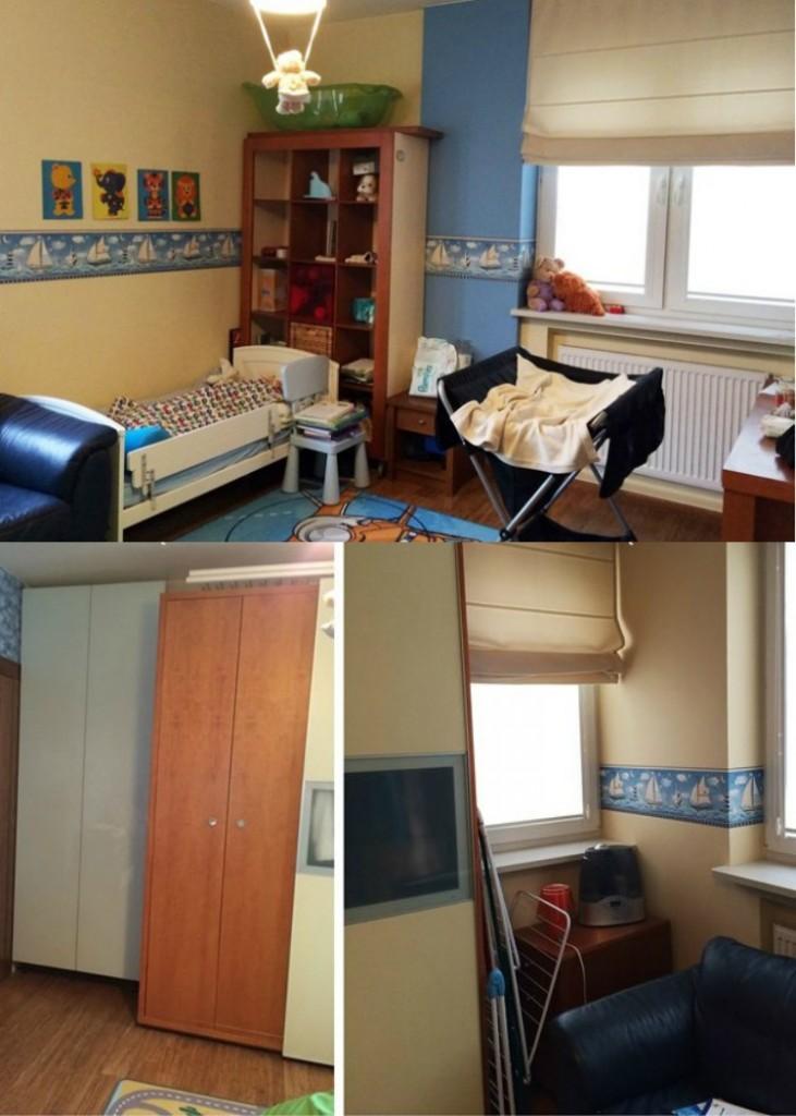 детская комната на двоих фото до ремонта