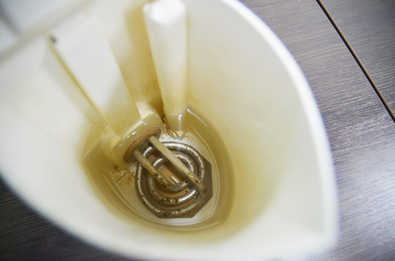 Как отмыть чайник до блеска за 10 минут