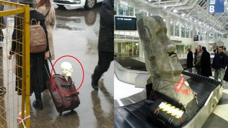 К поездке готовы: фото пассажиров с их удивительным багажом