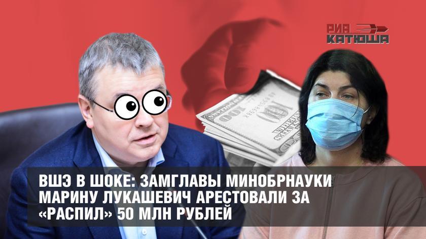 ВШЭ в шоке: Замглавы Минобрнауки Марину Лукашевич арестовали за «распил» 50 млн рублей