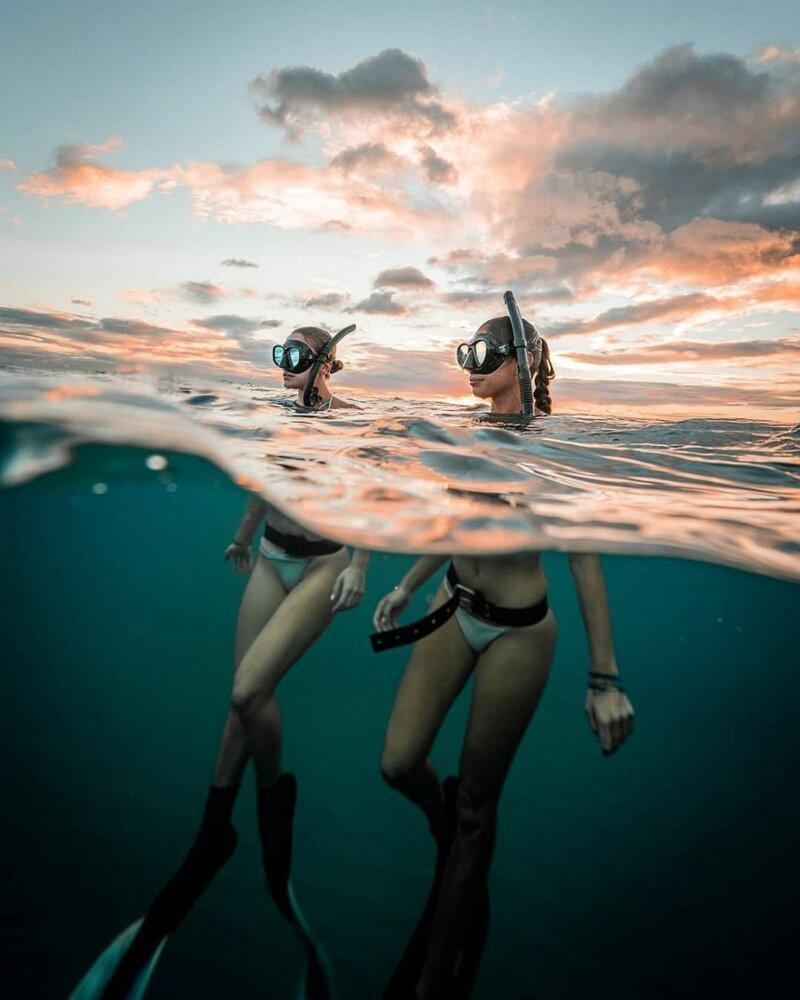 """""""Большой и синий океан"""": фотограф-фридайвер показал удивительную серию подводных кадров"""