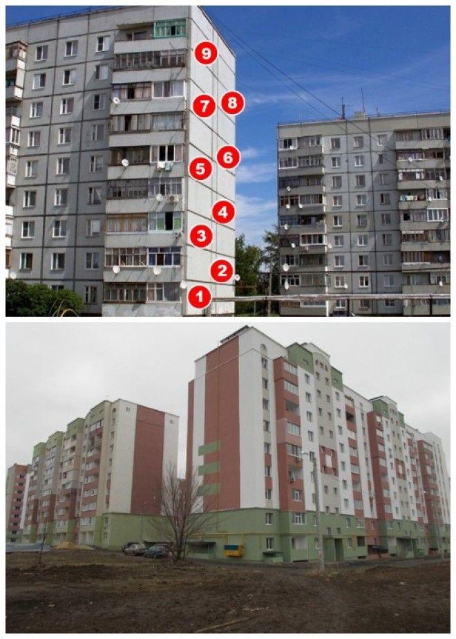 Во все времена 9ти этажные жилые дома были в приоритете