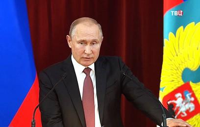 Путин заявил о востребованности России в обеспечении безопасности в мире