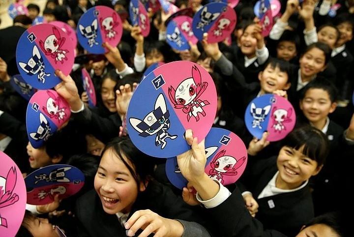 В Японии выбрали имена талисманов летней Олимпиады 2020 года