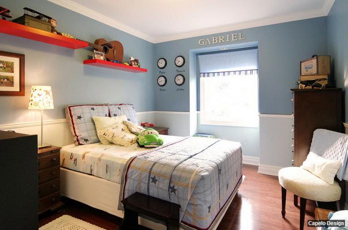 Покраска детской комнаты для мальчиков дизайн