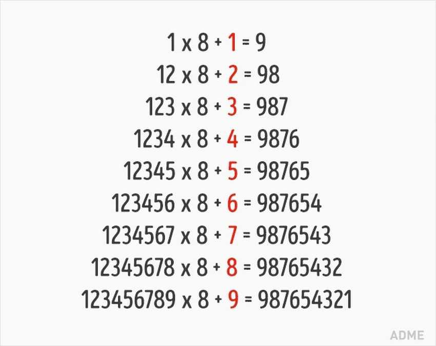 9 поразительных математических трюков, которым не учат в школе
