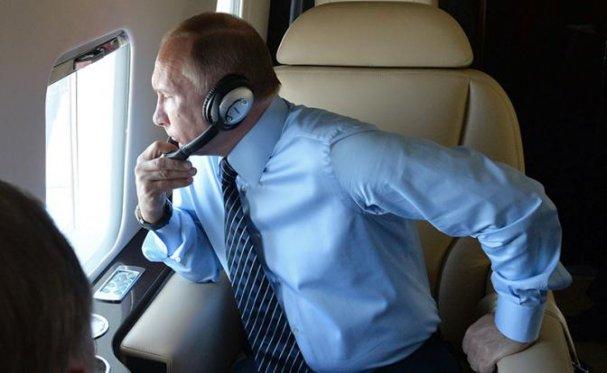 Охота на борт №1: Путин обл…