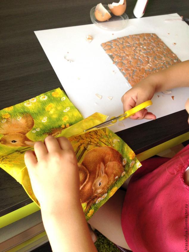 Делаем фреску вместе с детьми