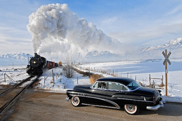 Красивой может быть и железная дорога.....