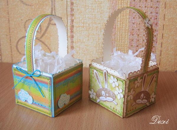 Корзинка для яиц - МК Красота Православия