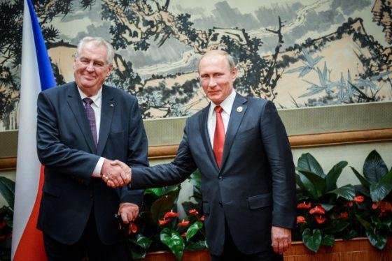 Путин и Земан встретятся в Сочи 21 ноября