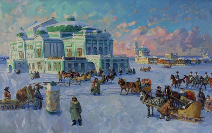 художник Сергей Евгеньевич Сочивко картины – 18
