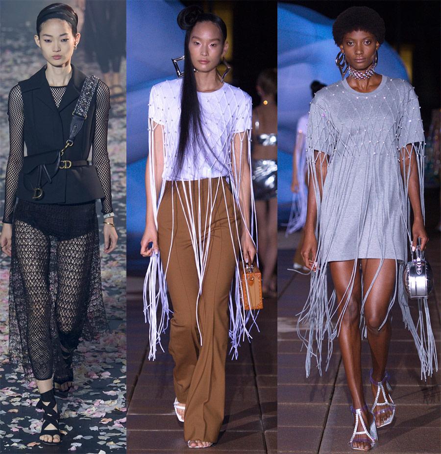Новый модный элемент гардероба 2019: сетка