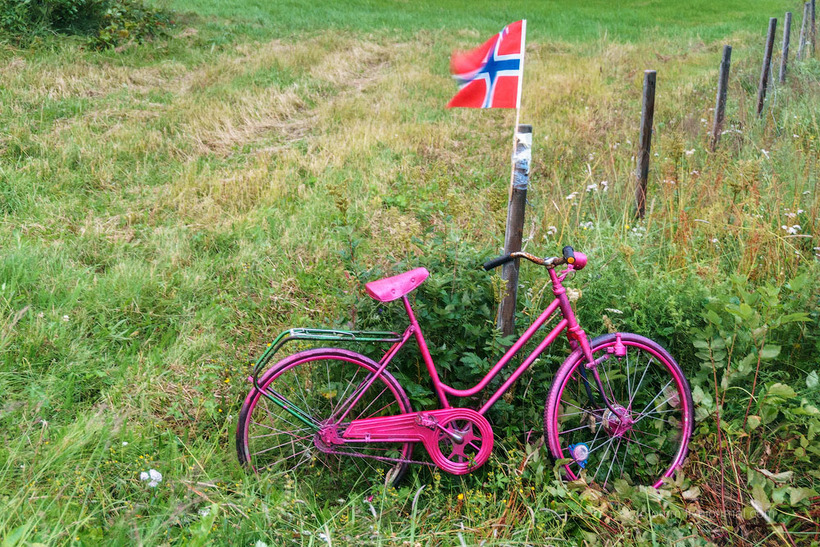 Что в Норвегии делают с велосипедами