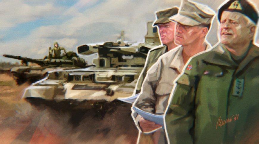 Военное доминирование Москвы: распадающееся НАТО не может противостоять России