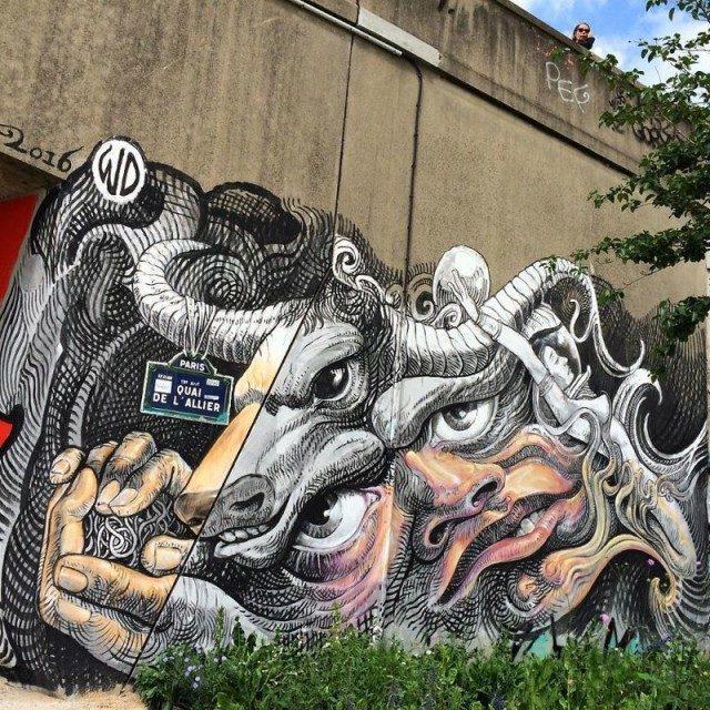 Граффити в ранге настоящего искусства