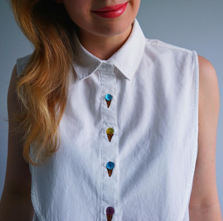 Блузка с мороженым (Diy)