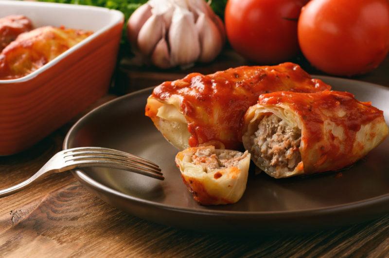 Изображение рецепта Голубцы с мясом и рисом