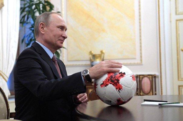 В разгар ЧМ Путин забивает д…
