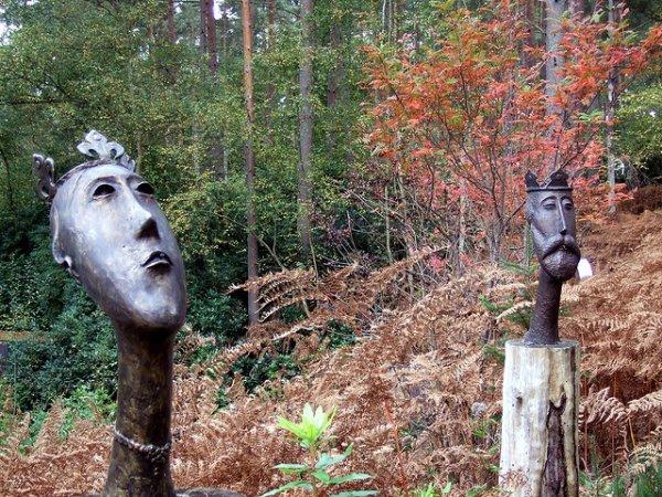 Парк необычных скульптур «Valley» (25 фото)