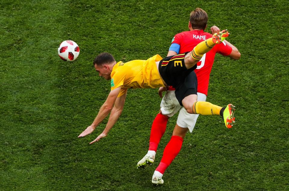 Бельгия заняла третье место …