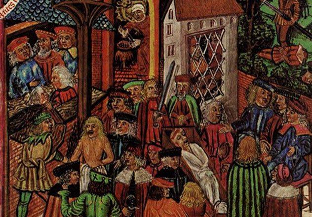 Восемь любопытных форм исторического права, когда людей судили испытанием