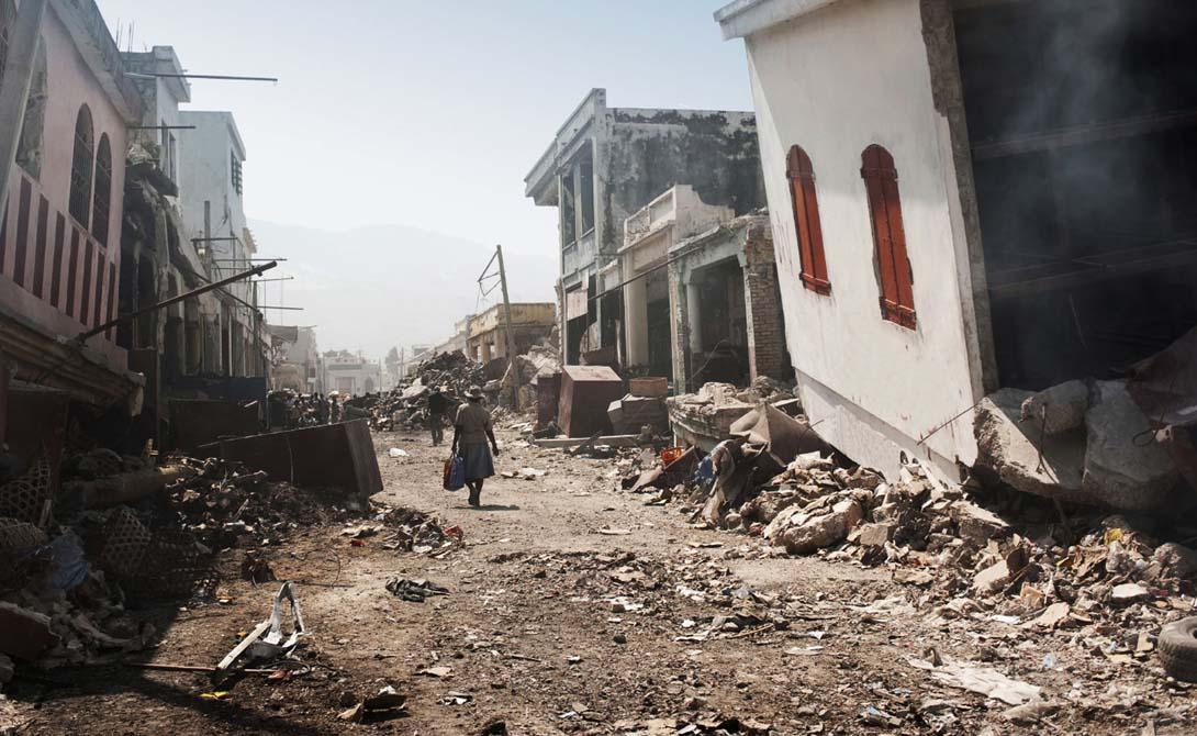 Самые разрушительные землетр…