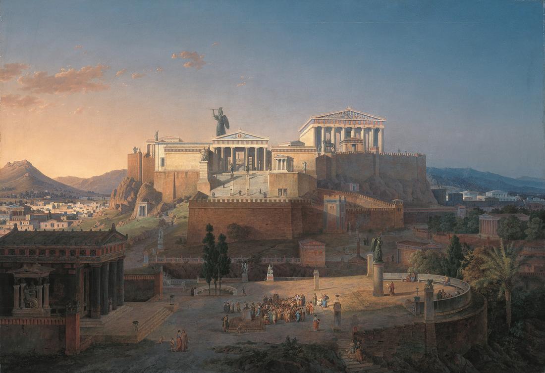 Парфенон. Афины. Греция...