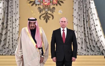 Путин обсудил с королем Сальманом ситуацию на Ближнем Востоке