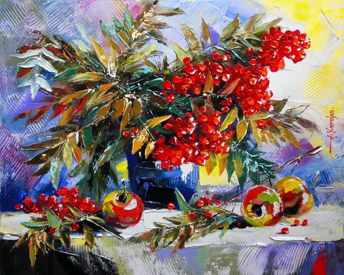 У природы нет плохой погоды...красочное творчество Александра Ходюкова