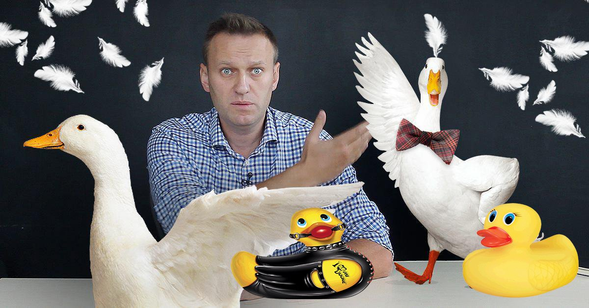 Новый ролик Навального уморительно смешной