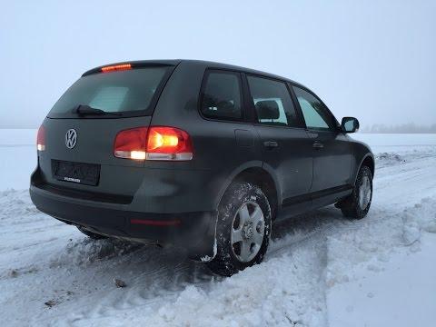 Тест авто драйв VW Touareg  3.2I