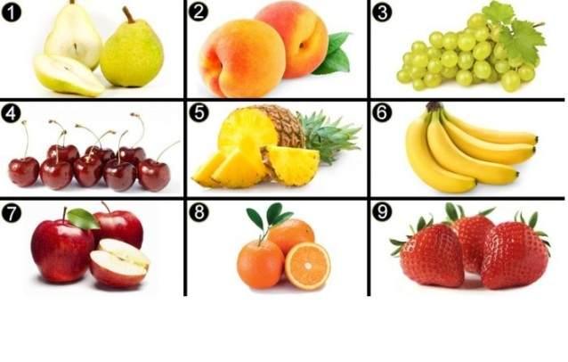 ТЕСТ по фруктам, выберите ка…