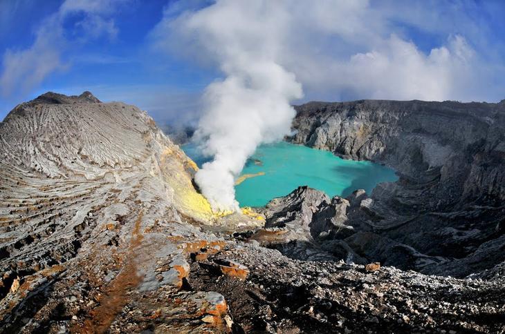Иджен, Восточная Ява, Индонезия